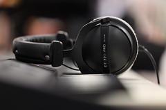 Headphone bokeh