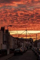 Winter sunrise: Riverside, Cardiff, Wales
