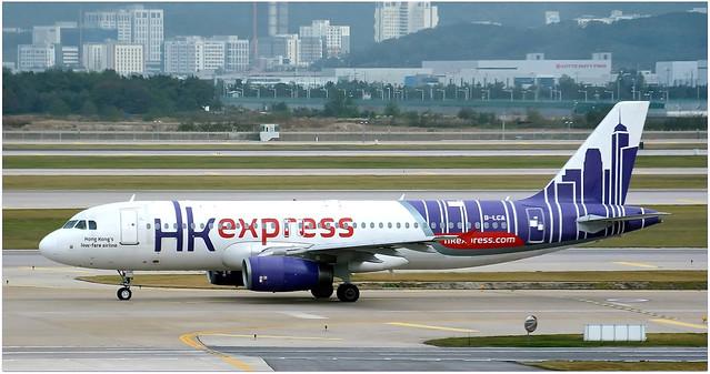 B-LCA | Airbus A320-232 | Hong Kong Express