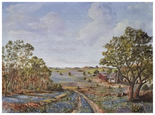 A. Easton | Original Oil Painting on Canvas, 1979 | Antiques & Things | Centre, Alabama