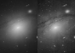 IC 5063 Darkened AGN Cones