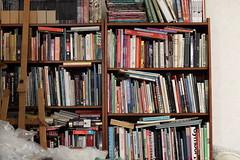 Bookshelf sharpness test - 70mm f/5.6