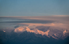 Sunshine over Kanchenjunga