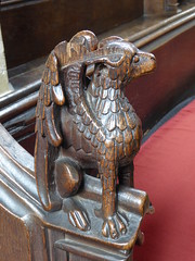 Bench End Carvings
