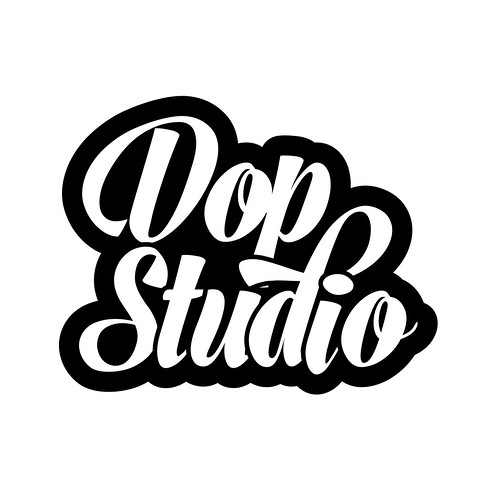Typography logo for business, band, music, DJ or t-shirt