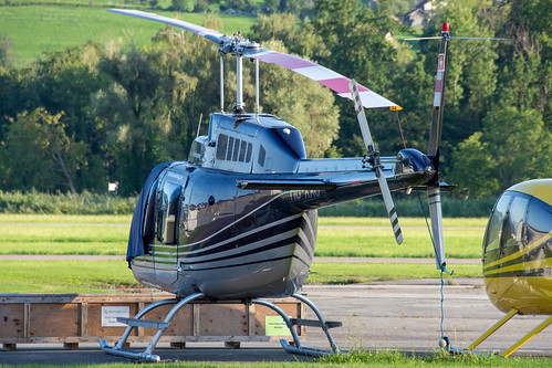 Airport Helicopter AHB Bell 206B HB-XXO