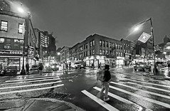 Brooklyn Rain on a December Night - NYC