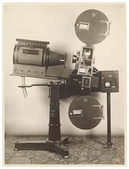 Cummings and Wilson movie projector, Sydney, ca. 1930, Sam Hood