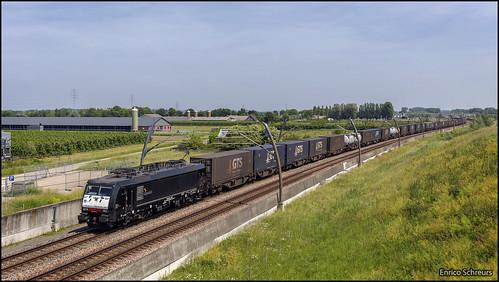 1 juni 2019 - SBB Cargo 189 092 - Kesteren