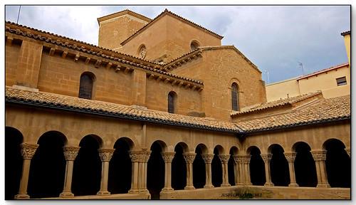 Claustre, Monasterio de San Pedro el Viejo, Huesca (España)