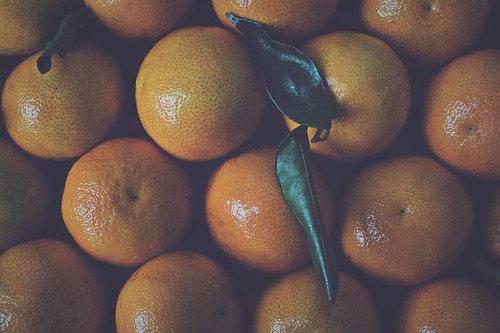 Entre mandarinas...