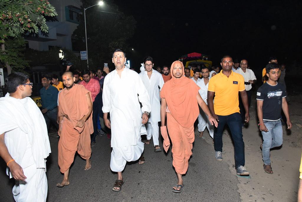 Padyatra Swaminarayan Bagh to Kalupur Mandir (2019)