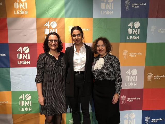 Andrea Blanco, Pilar Marqués y Elena Fernández