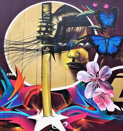 #allwomenarewarriors / #streetart by #CAZN1. . #Aalst #graffiti #urbanart #graffitiart #streetartbelgium #graffitibelgium #muralart #visitaalst #streetartlovers #graffitiart_daily #streetarteverywhere #ilovestreetart #igersstreetart #thisismyeurope #jj_ur