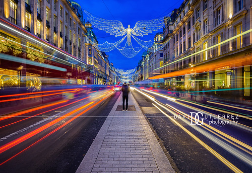 Spirit of Christmas - Regent Street, London, UK