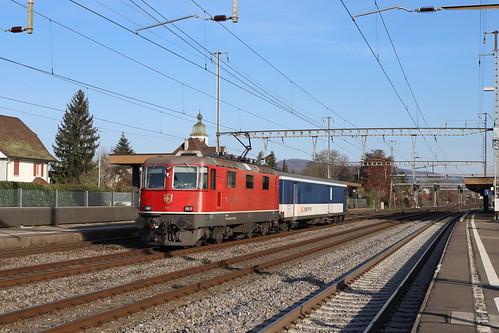 SBB Re 420 145-5 Gefängniszug, Rupperswil