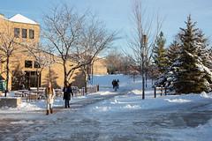 Winter Campus Scenes-9