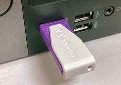 USB Flash Drive - Verbatim Thumb Drive Storage Device