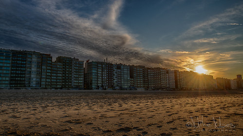 Sunset Blankenberge
