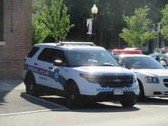 Albany (NY) Police Ford Police Interceptor Utility