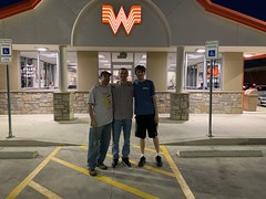 Me Jason and Gustav at Whataburger