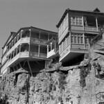 Cliff hanger  (Fuji Acros)