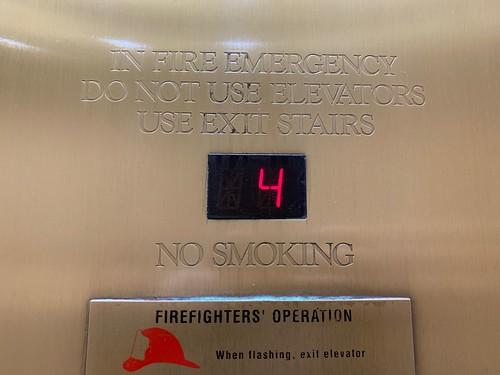 Fujitec elevators at the Galleria