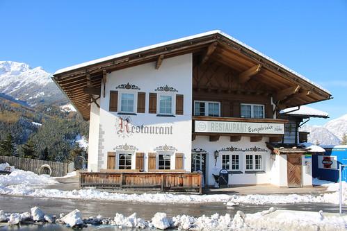 Brennerpass: Restaurant Europabrücke