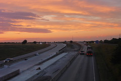 Beautiful Sunset in Waxahachie TX