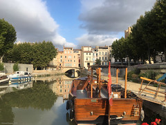 Canal de la Robine - Photo of Narbonne