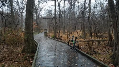 2019 Bike 180: Day 186 - Gloomy Morning