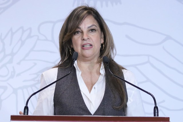 02/12/2019 Conferencia de Prensa Dip. Lorena Villavicencio Ayala