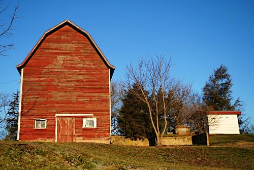 Twin Lakes, Wisconsin Barn
