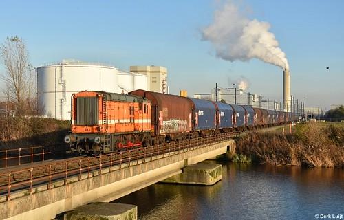 Rail Force One 683, Amsterdam Houtrakpolder, 4-12-2019 14:54