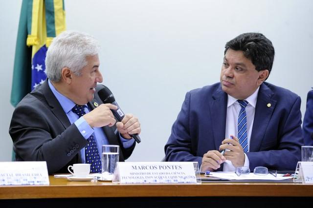 """""""Quando ouço a palavra 'expulsão', 'retirar', eu não gosto dessas palavras. Isso não é a ideia"""", afirmou Marcos Pontes, na Câmara - Créditos: Cleia Viana/Câmara dos Deputados"""