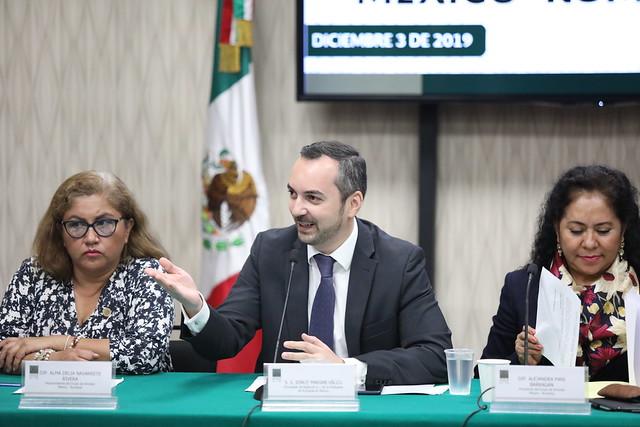 03/12/2019 Instalación de Grupo de Amistad México-Rumania