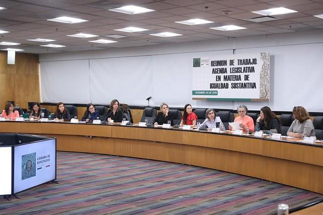 04/12/2019 Reunión De Trabajo Agenda Legislativa En Materia De Igualdad De Igualdad Sustantiva