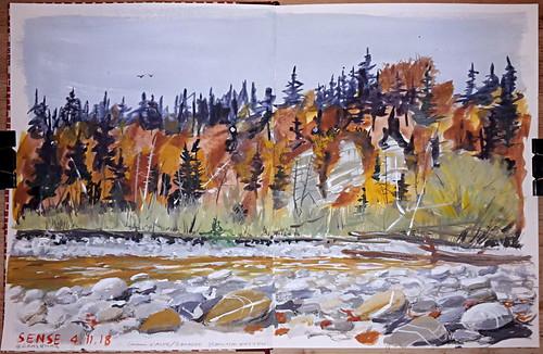 Sense River in November