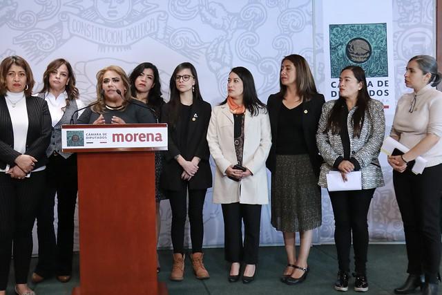 03/12/2019 Conferencia De Prensa Dip Lorena Villavicencio