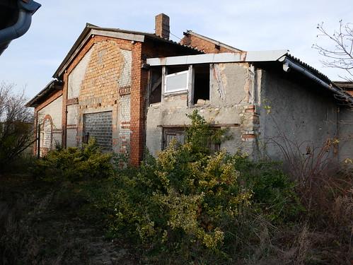 ehemaliges Gaswerk in Klötze