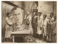 Theatrical poster and display artists, Sydney, ca. 1935, Sam Hood, c. 1935