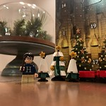 by bartlewife - May or may not be having more fun with Archer's Harry Potter LEGO advent calendar than he is. 🎄