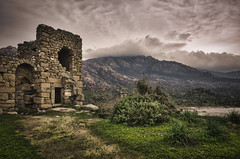 The ruin of a Byzantine castle