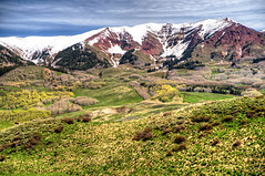 Mountain Range at Mt Crested Butte