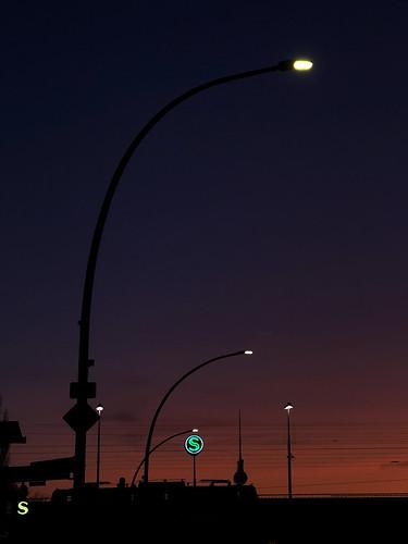 Sunrise over Berlin