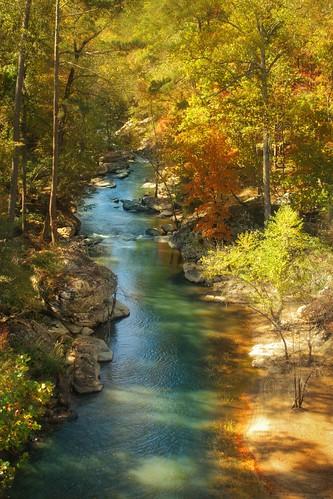 Downstream of Noccalula Falls