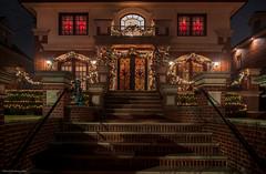 Christmas symmetry  (Lights Christmas 02)