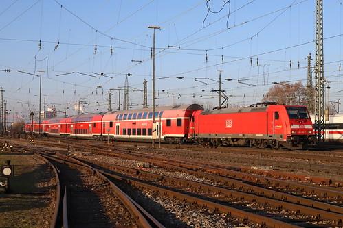 DB Regio 146 216-7 RE, Basel Bad Bhf