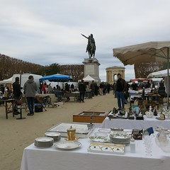 Sunday market, Peyrou - Photo of Mauguio