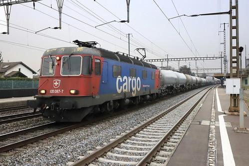 SBB Cargo Re 620 087-7 Bischofszell, Tankzug Rupperswil
